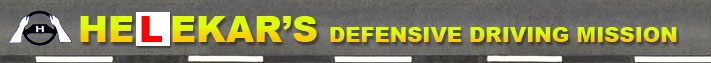 Helekar's Defensive Driving Mission Logo